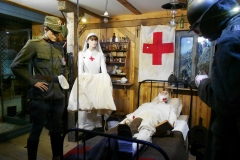 La vetrina dell'infermeria