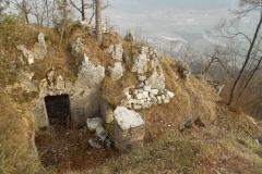 Postazioni sul monte Ciolino